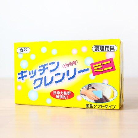 日本 無磷廚房洗碗皂(小) 350g 附吸盤 碗盤 洗碗精 環保 節省 日本製【N201296】