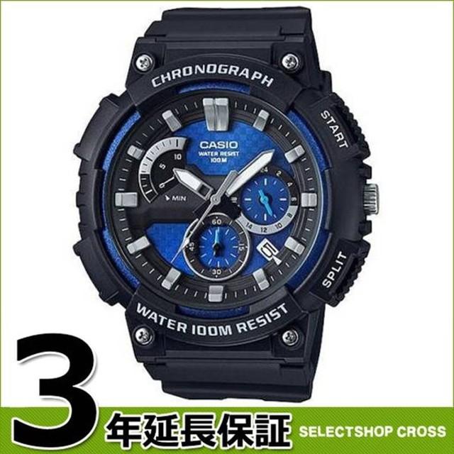 fdb27faf7c 【3年保証】 カシオ CASIO チープカシオ クロノグラフ 100M防水 チプカシ メンズ 腕時計