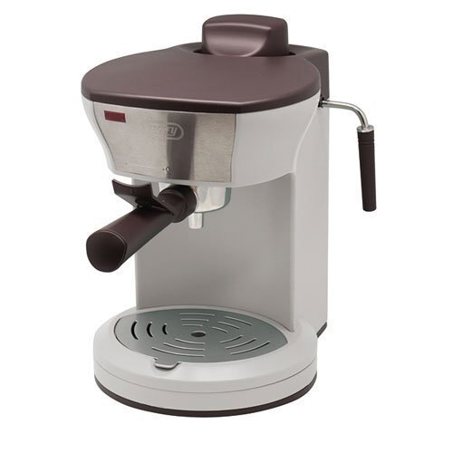 日本必買 Toffy K-CM3 復古白色 復古造型咖啡機 義式咖啡機/加熱蒸氣孔/奶泡/4杯量馬卡龍家電 K-CM3