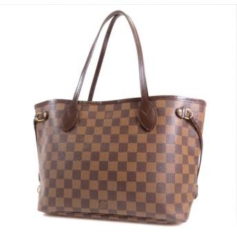 中古 Louis Vuitton ルイ・ヴィトン トートバッグ ダミエ ネヴァーフルPM N51109