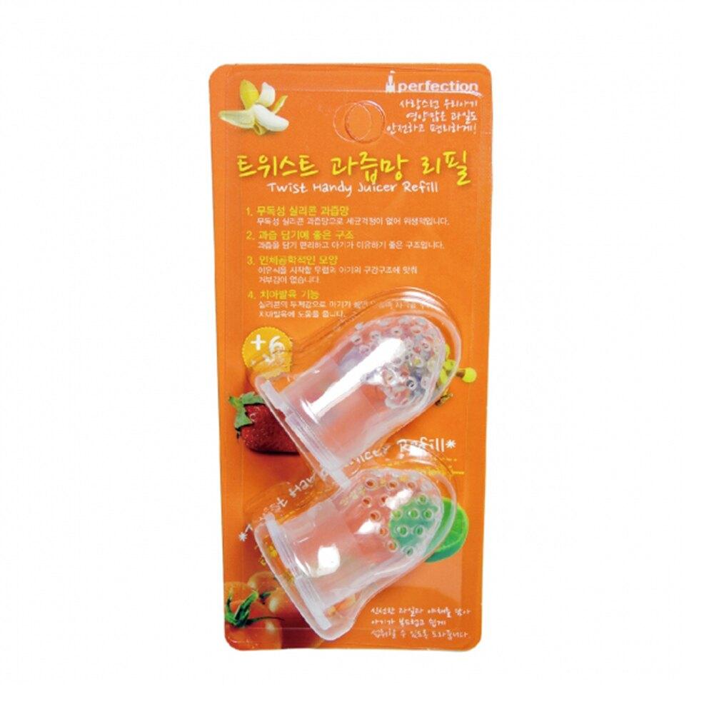 朴蜜兒 旋轉水果棒 矽膠替換頭2入 HRA073A(好窩生活節)