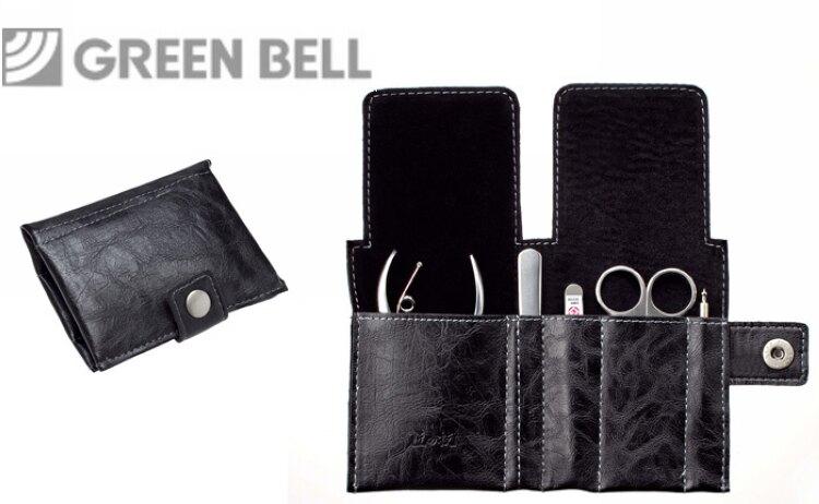 618購物節日本GB綠鐘匠之技鍛造鋼修容5件組旅行隨身包(G-3107)