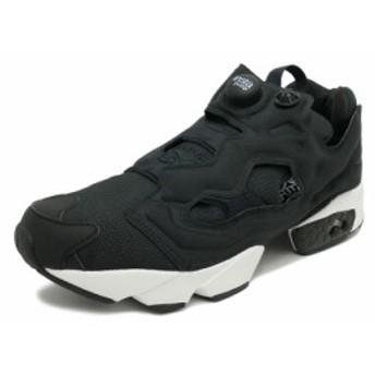 スニーカー リーボック REEBOK インスタポンプフューリー ブラック/ホワイト メンズ レディース シューズ 靴