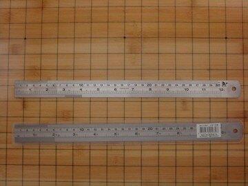 【不限品牌】   NO.402   30cm鋼尺 / 支