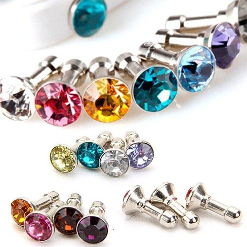 - 超低限購- 玻璃水鑽鑽石 / 手機防塵塞 / 不挑色