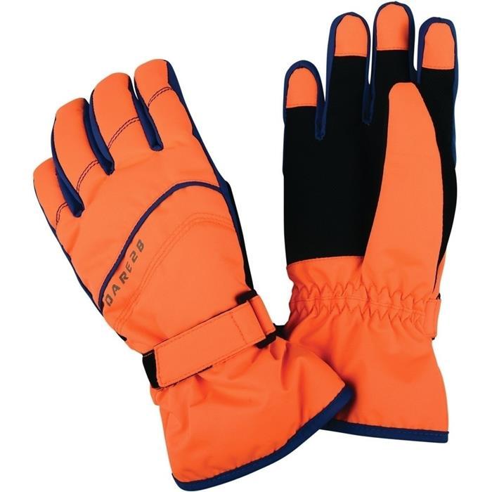 Dare 2b 小朋友手套/兒童手套/寒流保暖滑雪/防水手套 FD反光防水透氣保暖手套 童 DBG306 橘3VF