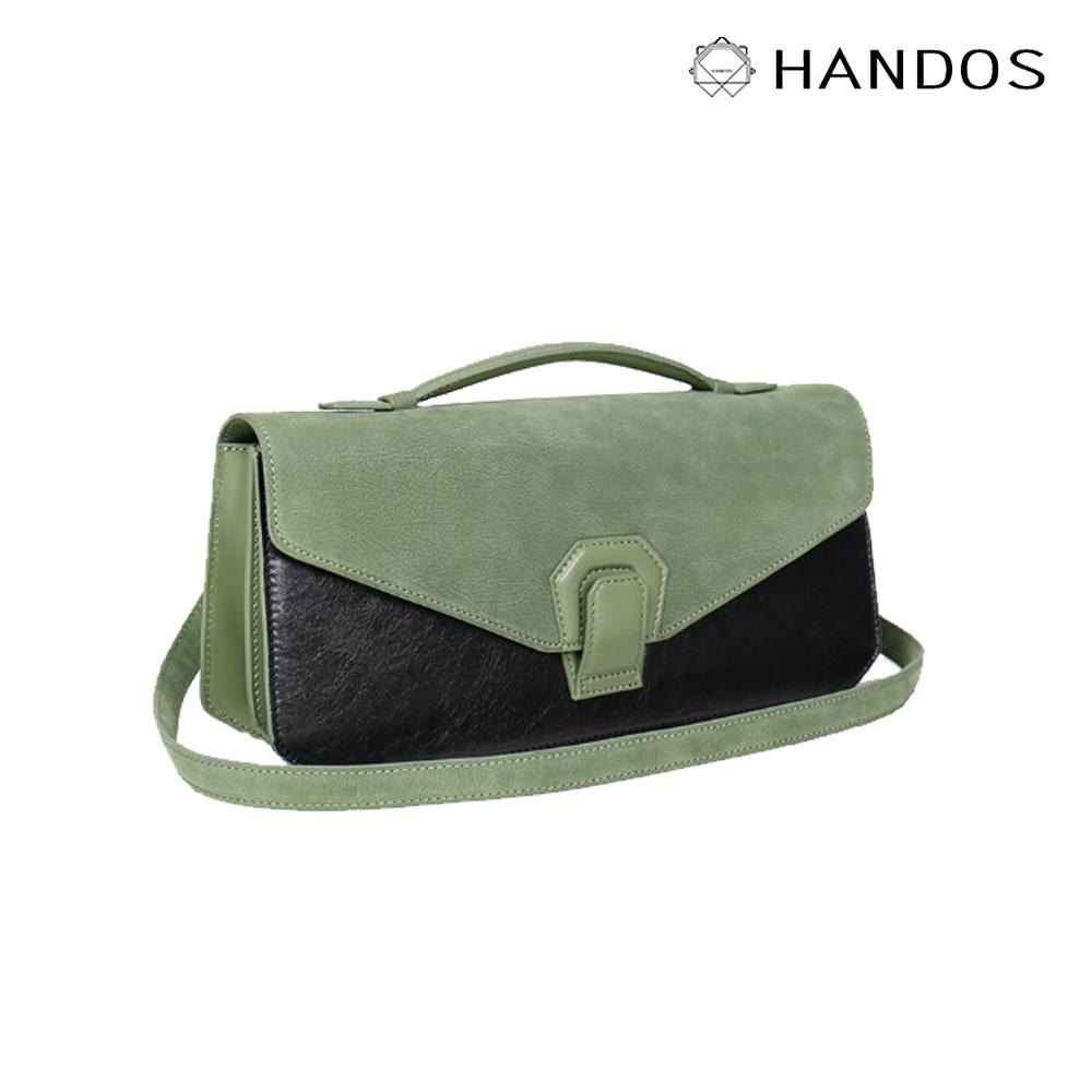 HANDOS|Melodica 二層風琴肩背包 - 抹茶綠