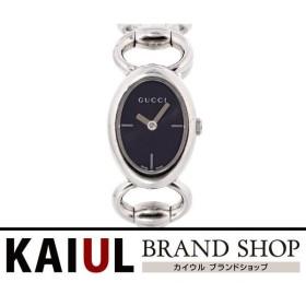 グッチ トルナブォーニ ブレスウォッチ YA118501(118) SS ブラック レディース 腕時計 ABランク