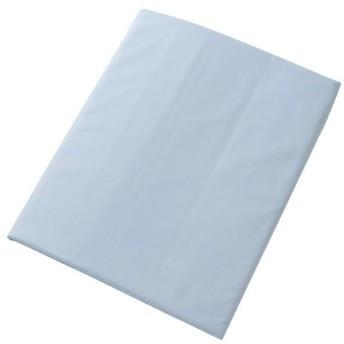 パレット 高密度防ダニカバーシリーズ 敷き布団カバー シングル 105×215cm パウダーブルー