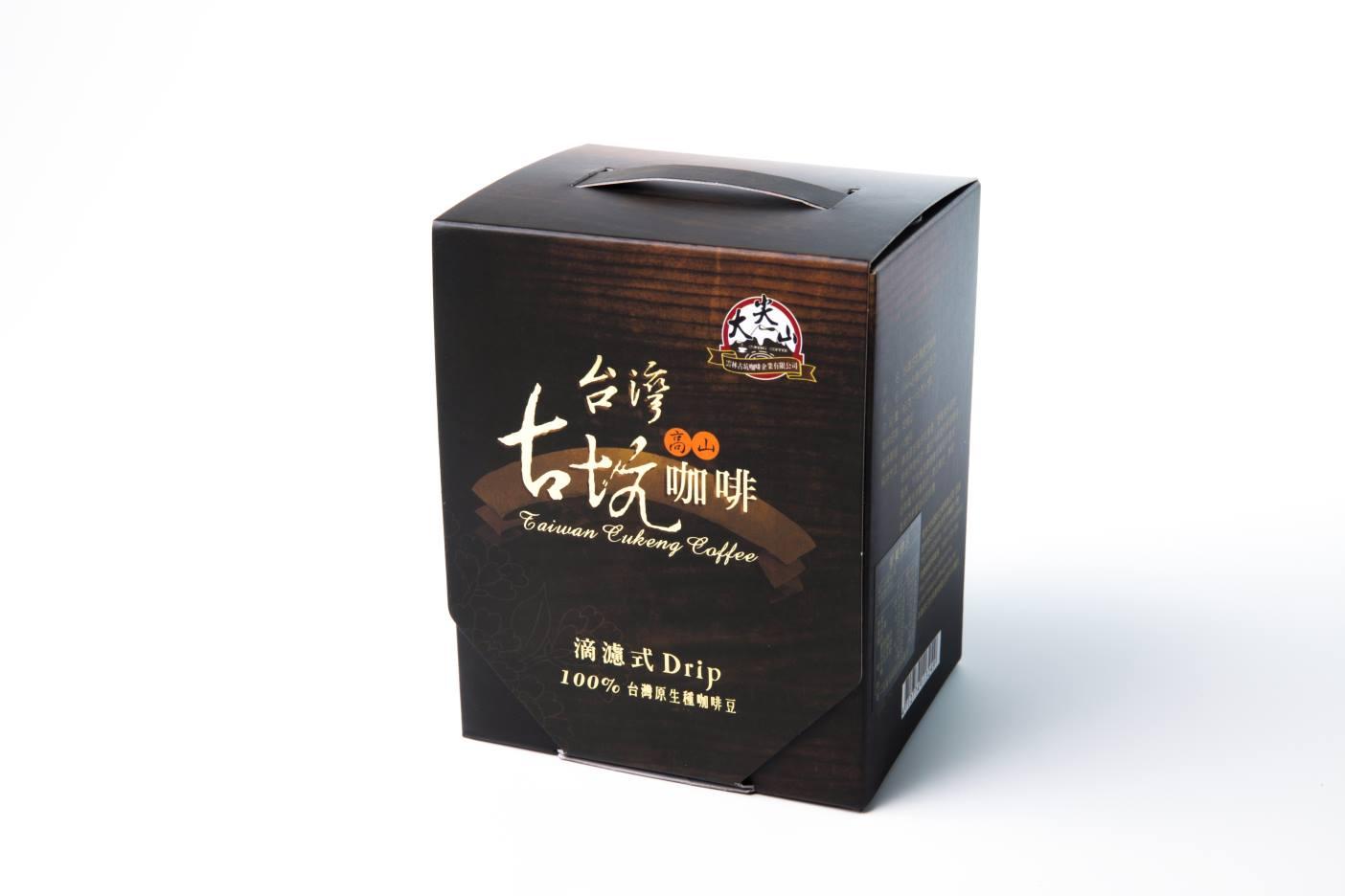 【TGC】台灣古坑濾掛式咖啡 5包