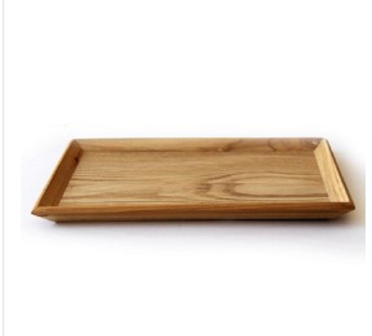木盤木質長方形家用麵包小盤實木製托盤水果盤餐盤