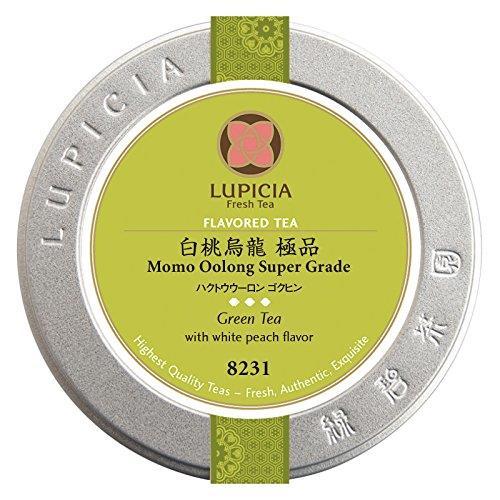 【日本代購】Lupicia 白桃烏龍 極品 30 g 罐裝產品