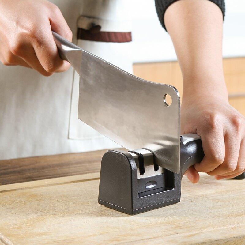 家用快速磨刀器 菜刀 用具 磨刀石 多功能磨刀器 磨刀棒 廚房 多功能 ♚MY COLOR♚【J193】