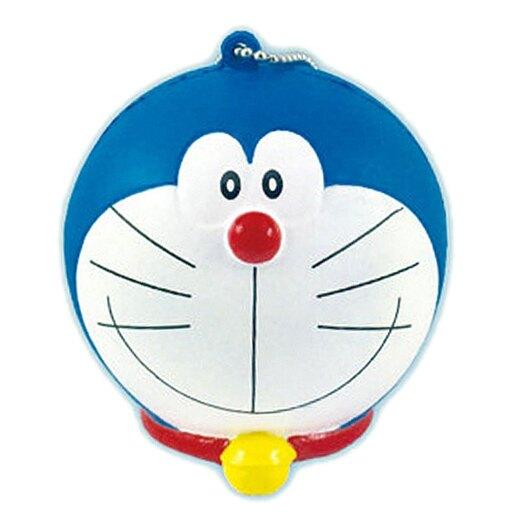 哆啦A夢 大頭 軟 玩偶 公仔 鑰匙圈 鑰匙扣 軟偶 紓壓 蒐集 小叮噹 正版 授權 J00014431