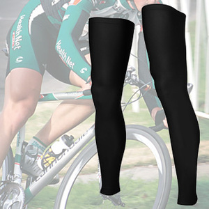 (Bestcool)自行車防曬騎行腿套 籃球護套 慢跑 馬拉松護腿套 彈性壓縮包覆 球褲內搭 (二入組)