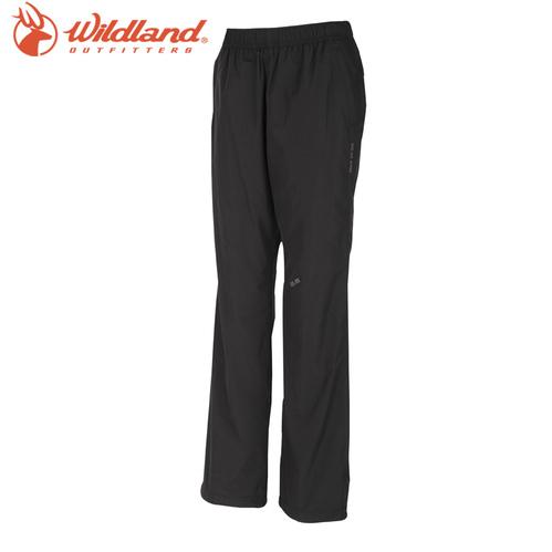 荒野wildland 女防風保暖長褲-54黑色  W2319-54