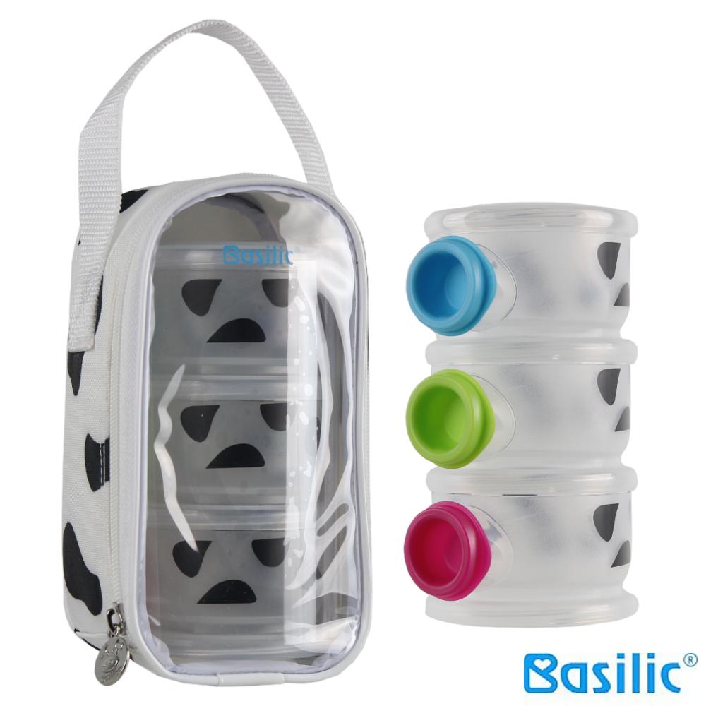 Basilic 貝喜力克斑斑三層奶粉盒