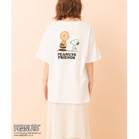 レトロガール PEANUTSビッグTee レディース ホワイト M 【RETRO GIRL】