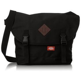 [ディッキーズ] メッセンジャーバッグ 肩掛け バックル付 大寸 12-6600 ブラック