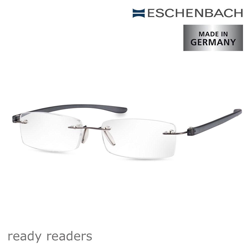 【德國 Eschenbach】ready readers 德國單光老花眼鏡 紳士灰 (共7種度數)