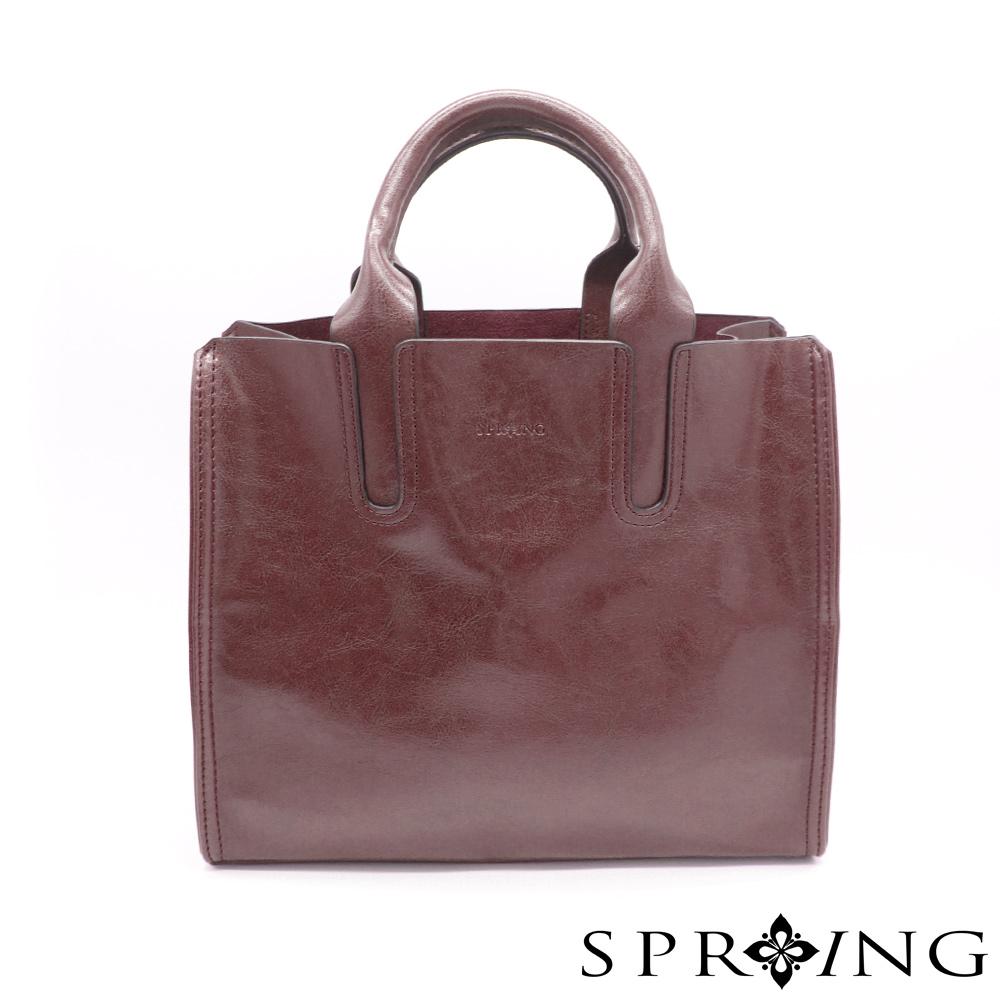 SPRING-朴秘書的柔軟方包-質感咖啡 (9-92200-62)