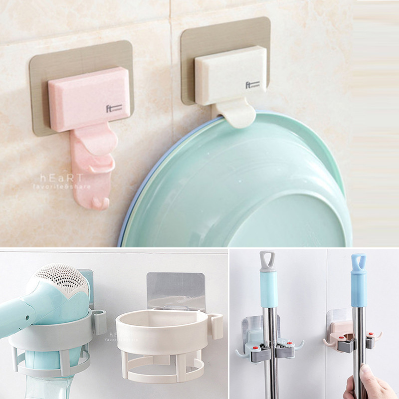 北歐簡約浴廁收納黏貼式掛勾