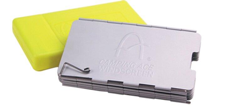 10片中型檔風板 檔風板 不銹鋼 防風 卡式爐 爐具配件 ARC-5102M 野樂 Camping Ace