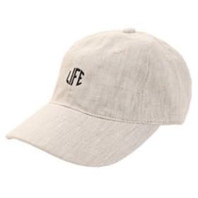 【SALE/送料無料】【Super Sports XEBIO & mall店:帽子】リネン刺繍キャップ LIFE 897PA9ST1768 NTL