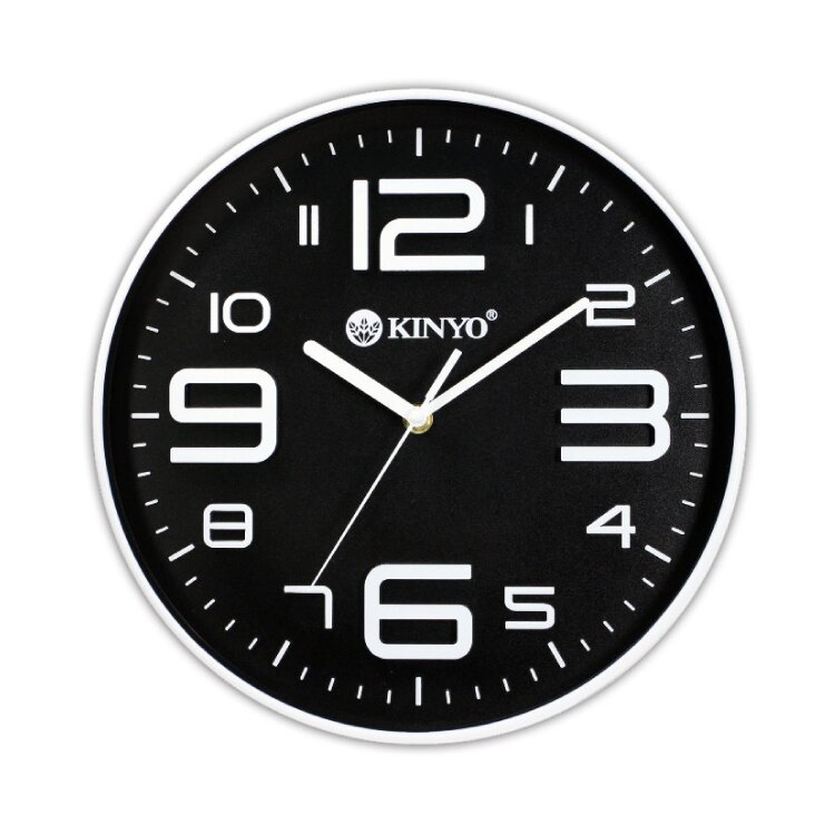 CL-122 12吋 369時尚靜音掛鐘 時鐘 鬧鐘 掛鐘 壁鐘 LCD電子鐘【迪特軍】
