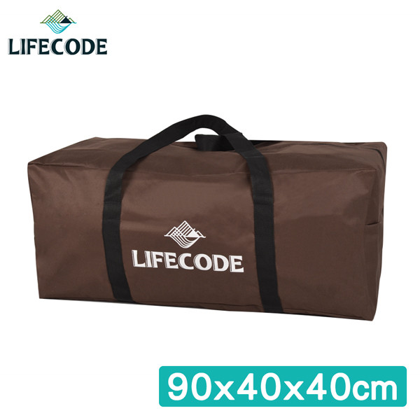 lifecode野營裝備袋90x40x40cm (xl號)-(咖啡色)