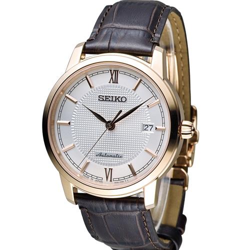 SEIKO 精工 Presage 羅馬假期機械腕錶 4R35-01A0P SRPA16J1