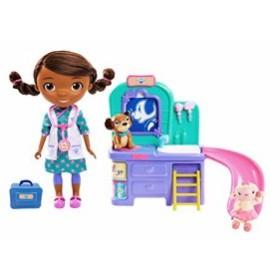 ドックはおもちゃドクター ペット獣医  おしゃべりドール 話す ディズニー Disney Doc McStuffins Pet Clinic Doll 91705FFP [並行輸入