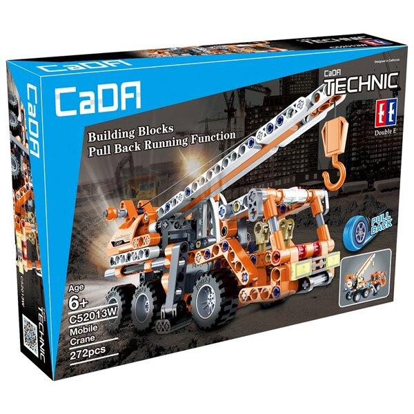 【caDA】回力積木車-起重吊車 C52013W