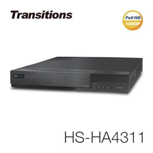 全視線 HS-HA4311 4路 H.264 1080P HDMI 台灣製造 混合式監視監控錄影主機