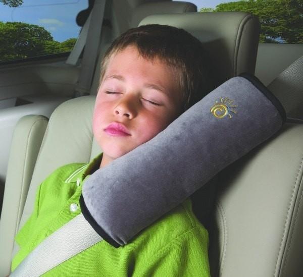 車用可枕式安全帶護肩套
