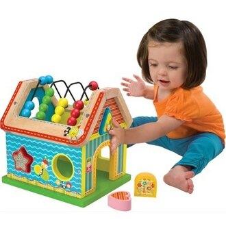 【美國ALEX】1995  寶寶數數形狀配對屋(送寶寶貼紙畫 市價650) /組