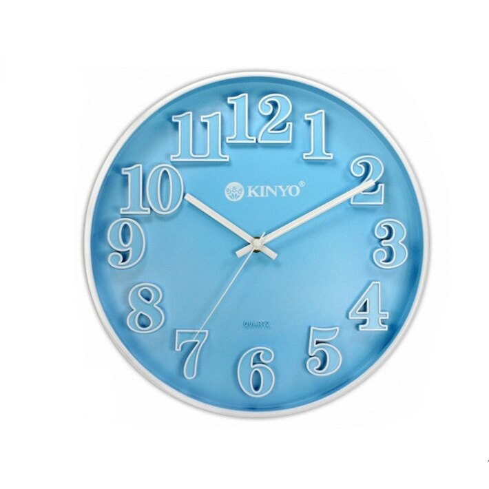 時鐘   賣家送電池 繽紛立體靜音掛鐘 時鐘 鬧鐘 掃描機芯 掛鐘 超靜音 CL-124