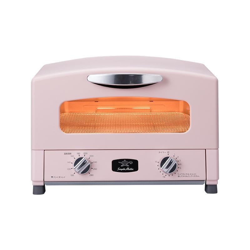 產品特色 好禮三重送: 1. 0.2秒瞬熱千石阿拉丁小烤箱料理食譜 2.千石阿拉丁雙層不鏽鋼真空保溫瓶480ml-粉色 3.日本原裝專業級不鏽鋼料理夾。 0.2秒急速加熱,免預熱、封住美味鎖住新鮮。