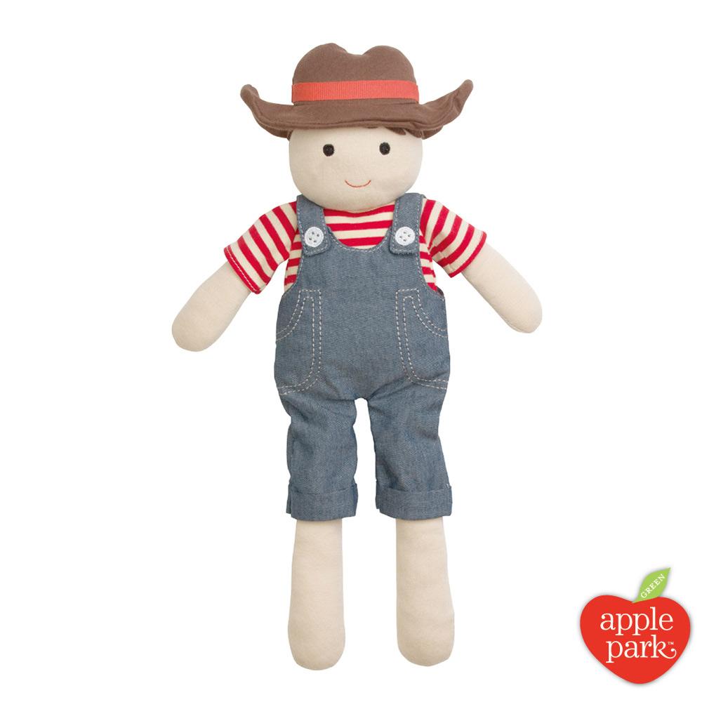 美國 Apple Park 農場好朋友系列 - 安撫玩偶,農場男孩