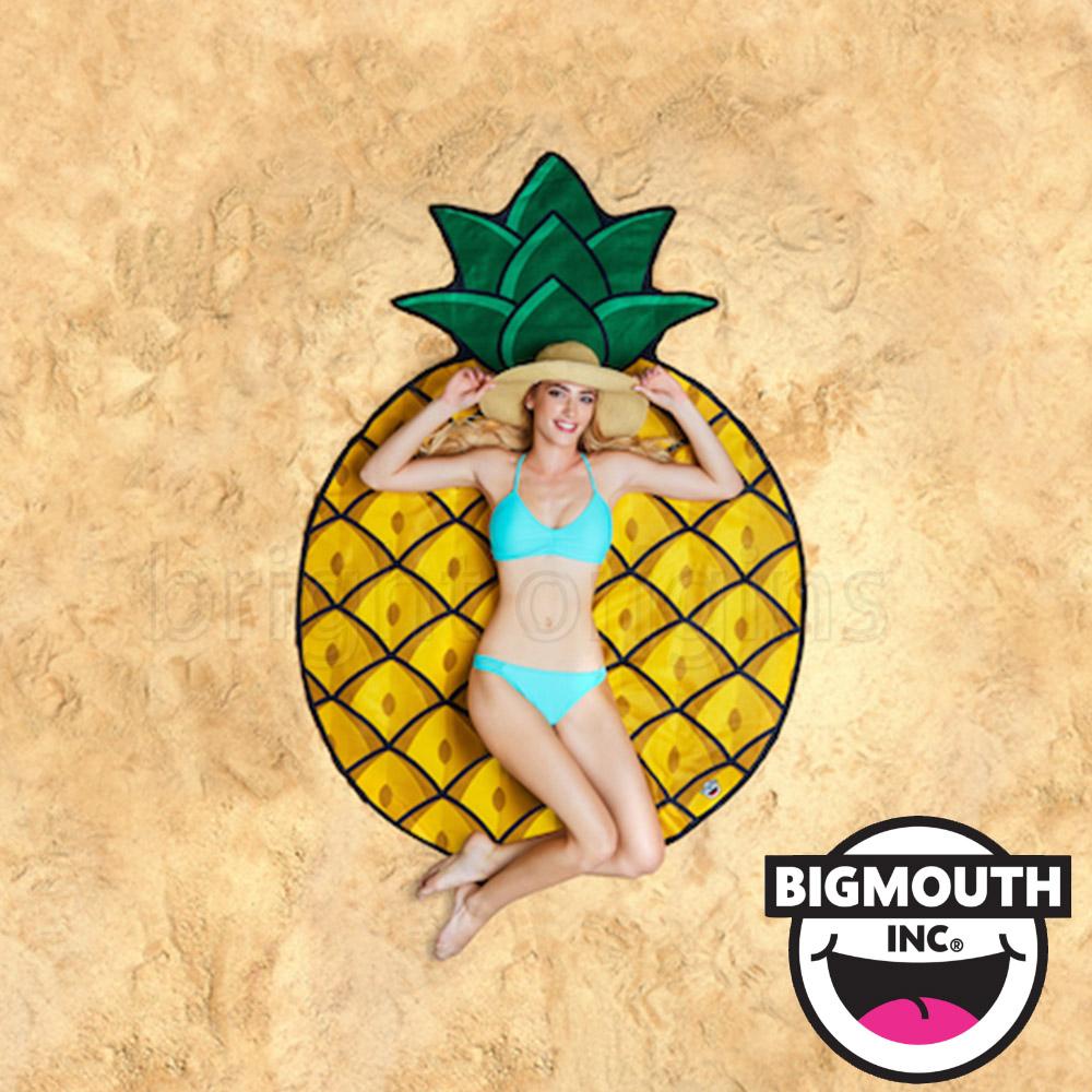美國 Big Mouth 造型海灘毯 鳳梨款