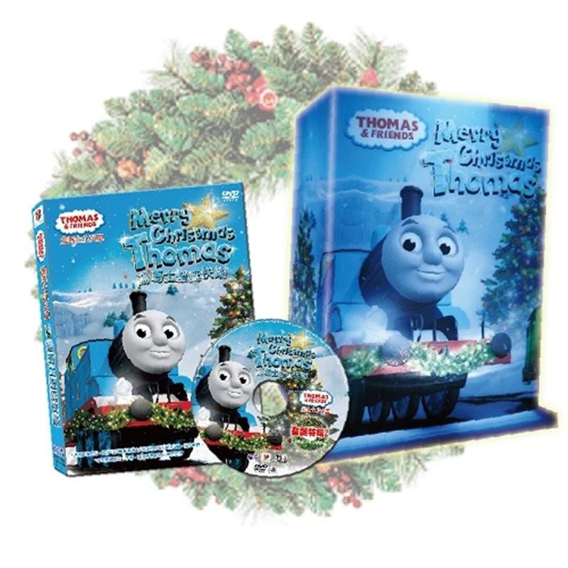 湯瑪士小火車聖誕特輯2聖誕快樂dvd+贈品