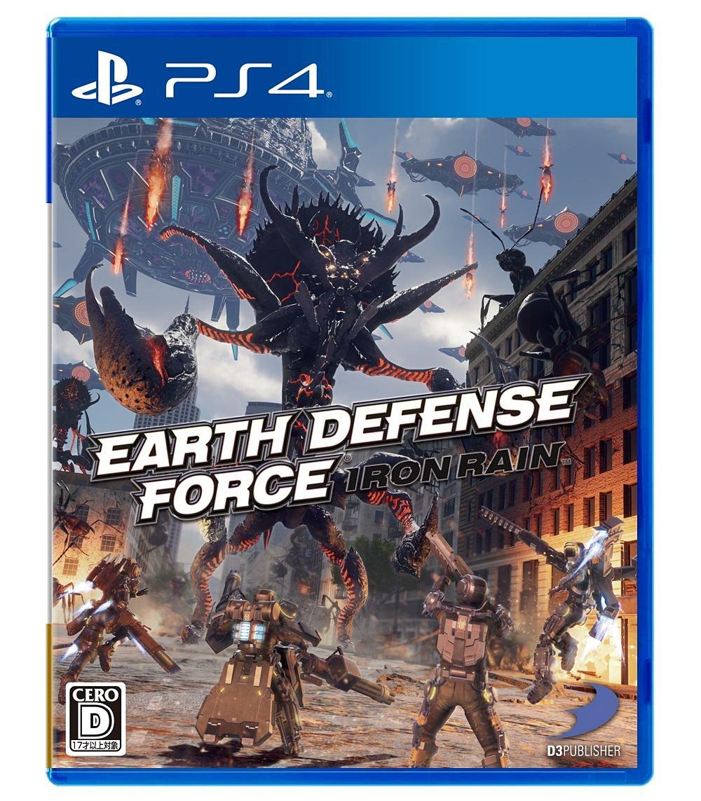 預購中 4月11日發售 中文版  [輔導級] PS4 地球防衛軍:槍林彈雨