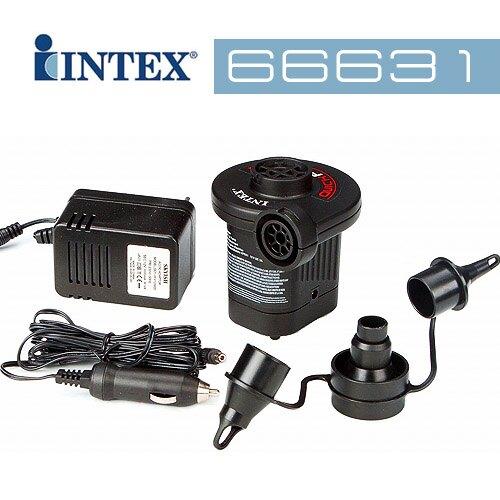 【美國 INTEX】110V~120V AC/DC 電動打氣筒 66631