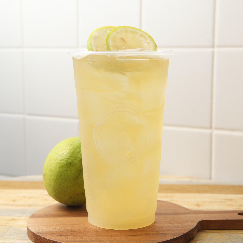 【汝菓】鮮檸綠茶 L (冷) 700 c.c.★茶飲★水果風味★電子票券