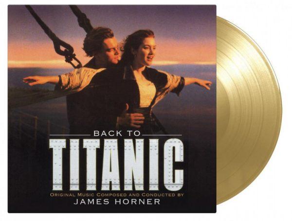 【停看聽音響唱片】【黑膠LP】重回鐵達尼號 電影原聲帶 首批限量金色彩膠(2LP)