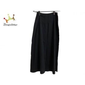 アニエスベー agnes b ロングスカート サイズ3 L レディース 美品 黒 新着 20190615