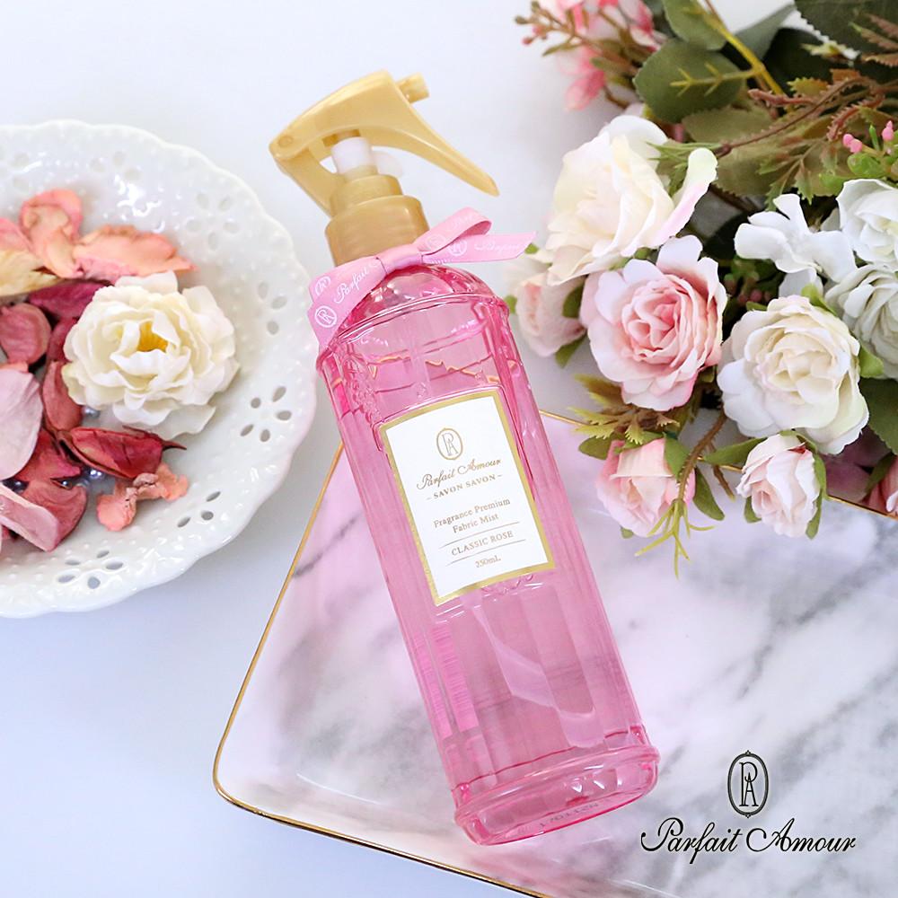 parfait amour衣物布藝品多功能芳香噴霧 經典玫瑰250ml