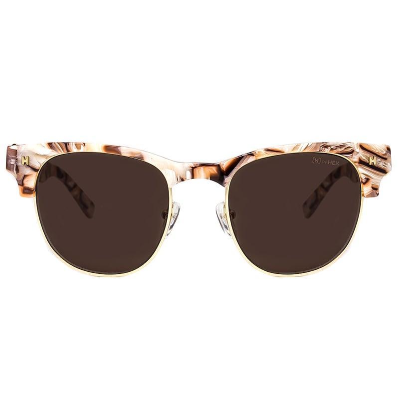 藝術家 - Frida K.│墨鏡│太陽眼鏡│義大利設計 - 肉色大理石紋