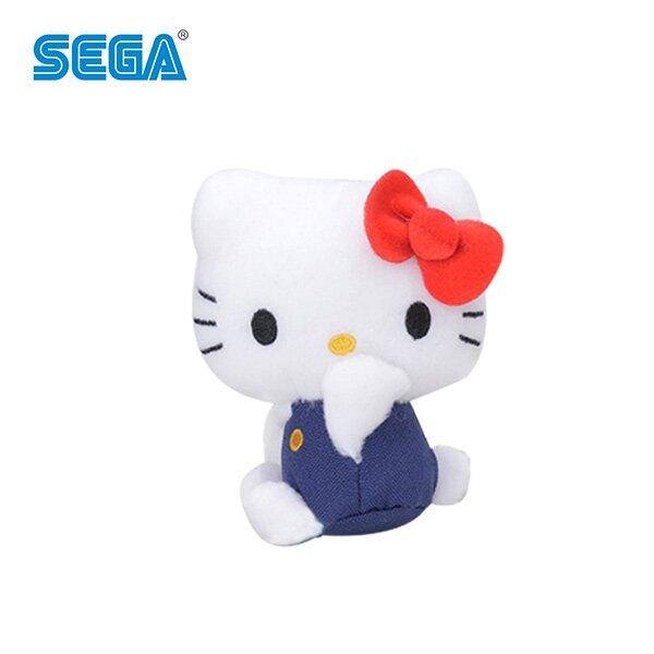 左側坐款【日本正版】凱蒂貓 吊飾 擺飾 Hello Kitty 三麗鷗 SEGA - 157196