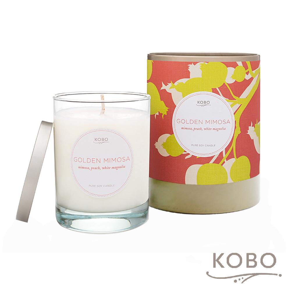 kobo美國大豆精油蠟燭 - 金羞草 (330g/可燃燒80hr)